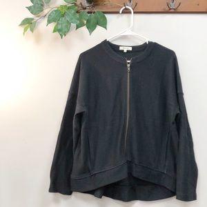 MADEWELL | Black cotton fall jacket Medium